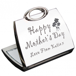 Happy Mothers Day Compact Mirror