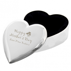 Happy Mother's Day Heart Trinket Box