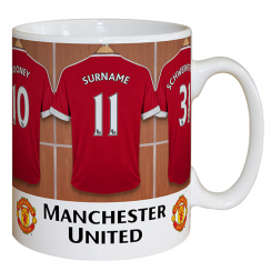 Manchester United Dressing Room Mug