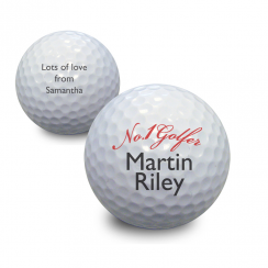 No 1 Golfer Golf Ball