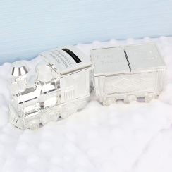 Train Money Box with Tooth & Curl Trinket