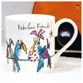 Quentin Blake Fabulous Friends Mug