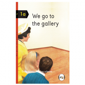 We Go To The Gallery, Dun Beetle Book 1A For Grown Ups