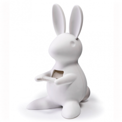 White Bunny Tape Dispenser