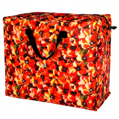 Poppies Jumbo Storage Bag