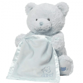 My First Teddy Peek A Boo Blue