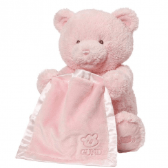 My First Teddy Peek A Boo Pink