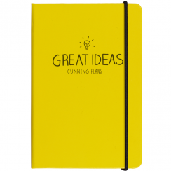 A5 Great Ideas Notebook Yellow