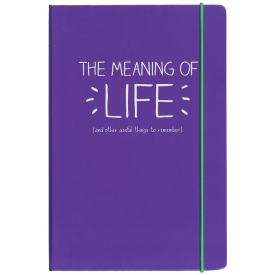 A5 Meaning Of Life Notebook