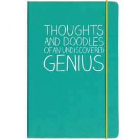 A5 Thoughts And Doodles Notebook