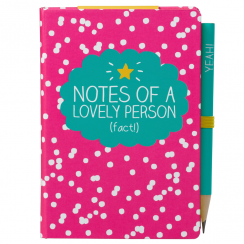 A7 Notes of a Lovely Person Mini Notepad