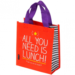 All You Need Is Lunch Tote