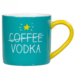 Coffee Vodka Aqua Mug
