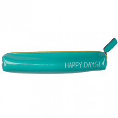 Glossy Happy Days Slim Pencil Case
