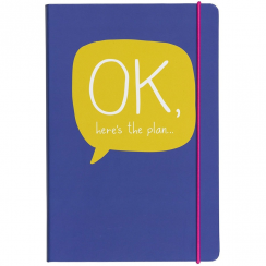 Here's The Plan Notebook