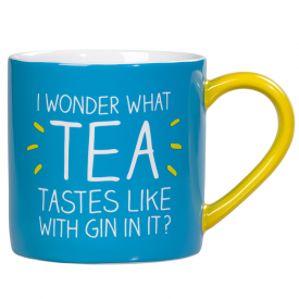 I Wonder What Tea Looks Like With Gin In It Mug