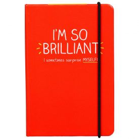 I'm So Brilliant A6 Notebook