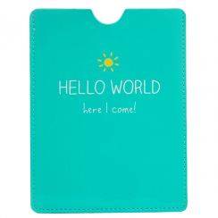 Passport Cover, Hello World