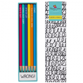 Pencils & Eraser Colour Pop Set