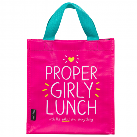'Proper Girly Lunch' Handy Tote