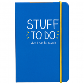 Stuff To Do A6 Notebook