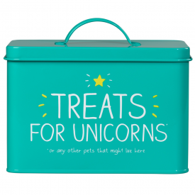 Treats For Unicorns Pet Tin