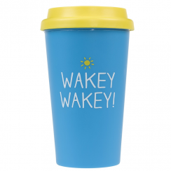 'Wakey Wakey' Travel Mug