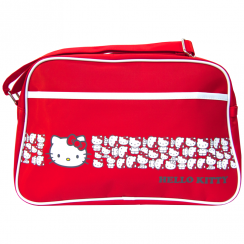 Red Sports White Trim Bag
