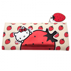 Strawberry Juciy Wallet & Keychain