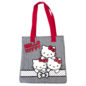 Triple Tote Monochrome Bag