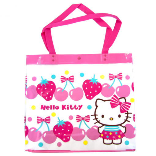 b602e6ace391 Hello Kitty Vinyle Tote Bag available at Flamingo Gifts.
