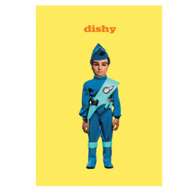 Thunderbirds Dishy Greeting Card