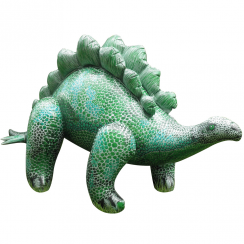 Inflatable Stegosaurus 3 ft 10 in Long