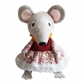 Bagpuss Lizzie Microwavable Mini Mouse