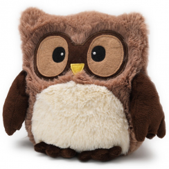 Brown Microwavable Hooty Owl