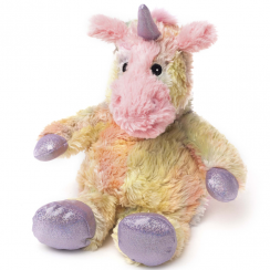Cozy Plush Microwavable Rainbow Unicorn