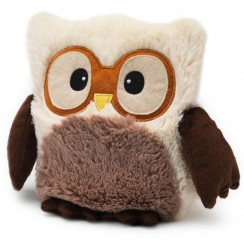 Cream Microwavable Hooty Owl
