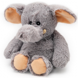Microwavable Cozy Plush Elephant