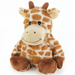 Microwavable Cozy Plush Giraffe