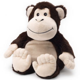 Microwavable Cozy Plush Monkey
