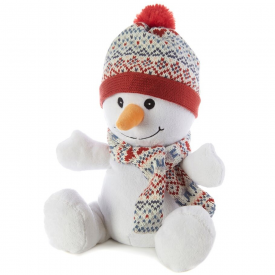 Microwavable Cozy Plush Snowman