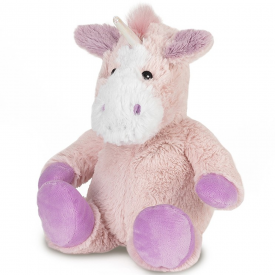 Microwavable Medium Cozy Plush Unicorn