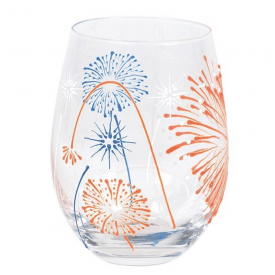 Izzy and Oliver Fireworks Glass
