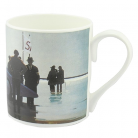 Pendine Beach Bone China Mug