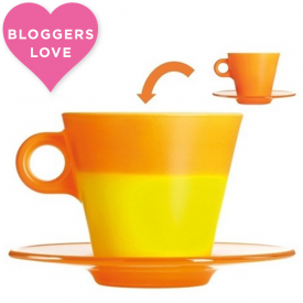 Ooh! Magico Orange Cappuccino cup