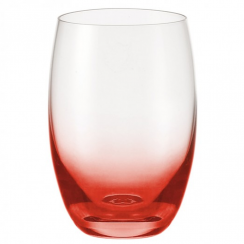 Red Dream HiBall Glass