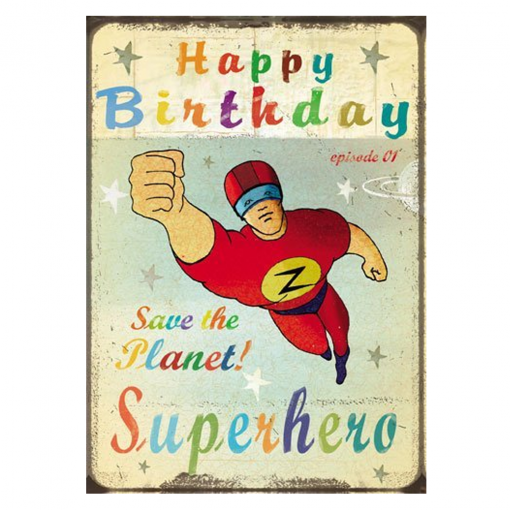 Find Lip International Superwoman Birthday Retro Card Shop Every