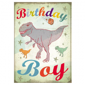 T-Rex Birthday Boy Card
