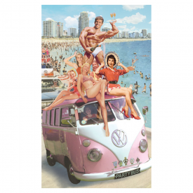VW Party Bus Card