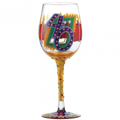 40th Wine Glass New Design